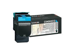 LEXMARK C540H2CG C540, C543, C544, X543, X544 High Yield Toner Cartridge Cyan