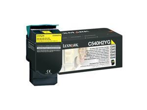 LEXMARK C540H2YG C540, C543, C544, X543, X544 High Yield Toner Cartridge Yellow