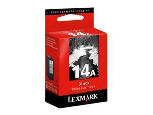 Lexmark 18C2080 #14A Black Print Cartridge for Z2300, X2600, X2670