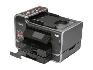 LEXMARK Platinum Platinum Pro905 Up to 33 ppm Black Print Speed 4800 x 1200 dpi Color Print Quality Wireless InkJet MFC / All-In-One Color Printer