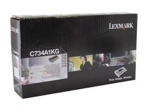 LEXMARK C734A1KG Cartridge Black