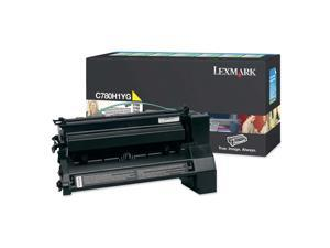 LEXMARK C780H1YG Yellow Toner Cartridge