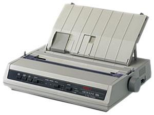 OKIDATA MICROLINE 186 Black (91306301) - Parallel, USB 9 pin 120V Up to 375cps 240 x 216 Dot Matrix Printer