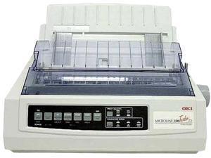 OKIDATA MICROLINE 320Turbo CSF 62411603 240 x 216 dpi 9 pins Dot Matrix Printer with Cut Sheet Feeder (Single Bin)