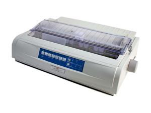OKIDATA MICROLINE 421 (62418801) - Parallel, USB 9 pin 120V Up to 570cps 240 x 216 Dot Matrix Printer