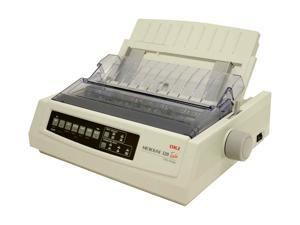 OKIDATA MICROLINE 320 Turbo w / RS-232C (91907101) 240 dpi x 216 dpi USB mono Dot Matrix Printer