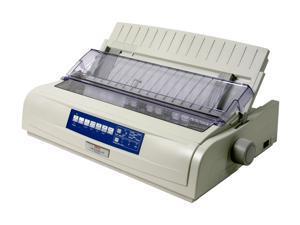 OKIDATA MICROLINE 491 (62419001) - Parallel, USB 24 pin 120V Up to 475cps 360 x 360 Dot Matrix Printer