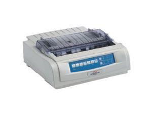 OKIDATA MICROLINE 421 Black (92009703) - Parallel & Serial, USB 9 pin 120V Up to 570cps 240 x 216 Dot Matrix Printer