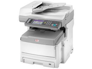 OKIDATA MC860 MFP 1-Tray / All-In-One Up to 33 ppm Color LED Network Printer (62431401)