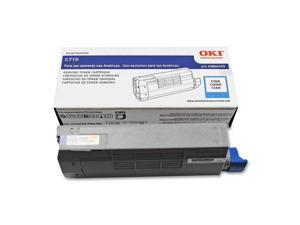 OKIDATA 43866103 Toner Cartridge Cyan