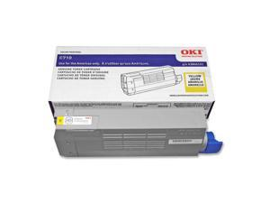 OKIDATA 43866101 Toner Cartridge Yellow