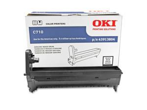 OKIDATA 43913804 Image Drum For C710 Series Printers Black