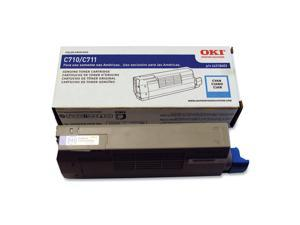 OKIDATA 44318603 Toner Cartridge Cyan