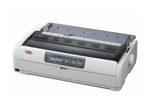 OKIDATA MICROLINE 621 (62433901) - Parallel, USB Dual 9-Pin 120V Up to 700cps 288 x 72 Dot Matrix Printer