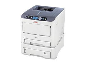 Okidata C610dtn 62433405 Workgroup Up to 34 ppm 1200 x 600 dpi Color Print Quality Color LED Printer