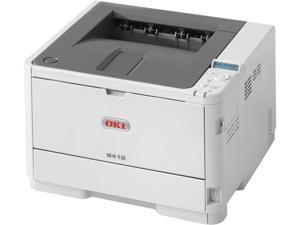 Okidata B412dn Workgroup Up to 35 ppm 1200 x 1200 dpi Color Print Quality Monochrome Laser Printer