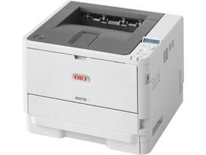 Okidata B512dn Workgroup Up to 47 ppm 1200 x 1200 dpi Color Print Quality Monochrome Laser Printer