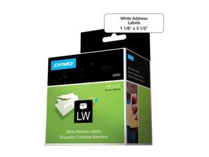 "DYMO 30320 1-1/8"" x 3-1/2"" 260 Labels LabelWriter Address Labels"