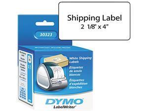 DYMO 30323 Shipping Labels, 2-1/8 x 4, White, 220/Box