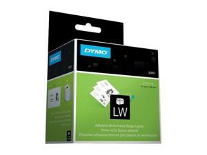 "DYMO 30857 2-1/4"" x 4"" 250 Labels LabelWriter adhesive name badge with clip hole"