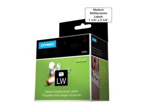 "DYMO 30334 1-1/4"" x 2-1/4"" 1000 Labels LabelWriter Medium Multipurpose Labels"