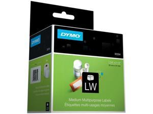 DYMO 30334 Multi-Purpose Labels, 1-1/4 x 2-1/4, White, 1000/Pack