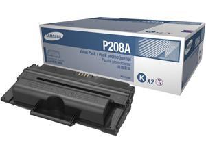 SAMSUNG MLT-P208A Black Toner Cartridge 2-Pack each x 10,000 page yield