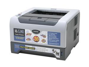 Brother HL Series EHL-5240 Personal Up to 30 ppm Monochrome Laser Printer