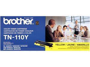 brother TN-110Y Toner Cartridge for HL-4040CN, HL-4070CDW, MFC-9440CN, MFC9840CDW Yellow