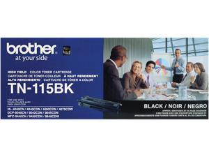 Brother TN-115BK Toner Cartridge 5,000 Page Yield&#59; Black