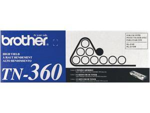 Brother TN360 High Yield Toner Cartridge 2,600 Pages Yield&#59; Black
