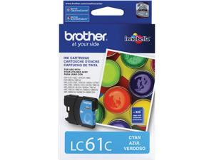 brother LC61C Standard Yield Ink Cartridge For MFC-6490CW Cyan