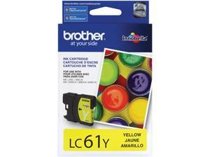 brother LC61Y Standard Yield Ink Cartridge For MFC-6490CW Yellow