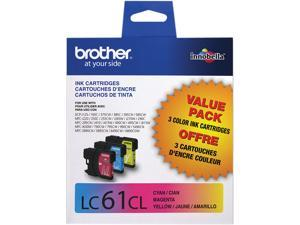 brother LC613PKS Ink Cartridge For MFC-6490CW Printer Cyan/Yellow/Magenta