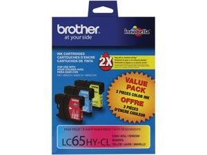 brother LC653PKS High Yield Ink Cartridge For MFC-6490CW Printer Cyan / Magenta / Yellow