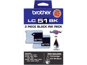 brother LC512PKS 2 Pack Ink Cartridge Black