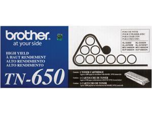 Brother TN650 High Yield Toner 8,000 Page Yield&#59; Black