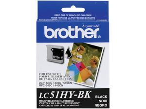 brother LC51HYBK Ink Cartridge Black