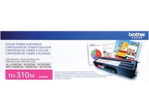 Brother TN310M Toner Cartridge 1,500 Page Yield&#59; Magenta