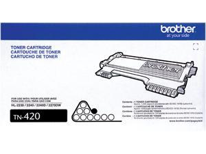 Brother TN-420 Toner Cartridge Standard Yield 1,200 Pages Yield&#59; Black