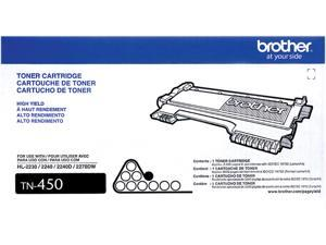 Brother TN-450 Toner Cartridge 2,600 Pages Yield&#59; Black