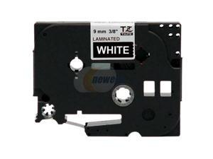 "brother TZ TZE-325 W-3/8"" Label Tape"