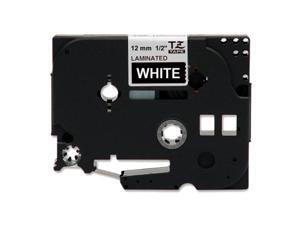 "brother TZ TZE-335 W-1/2"" Label Tape"