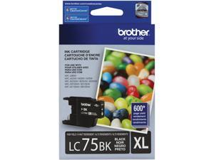 brother LC75BK Innobella High Yield (XL Series) Ink Cartridge Black