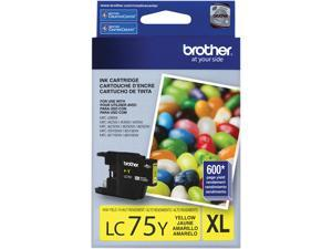 brother LC75Y Innobella High Yield (XL Series) Ink Cartridge Yellow