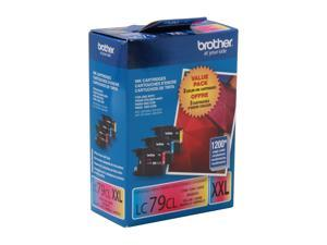 brother LC793PKS LC79CL 3 Pack Ink for MFC-J6510DW & MFC-J6710DW Cyan, Magenta, Yellow