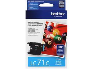 brother LC71C Innobella Standard Yield Ink Cartridge Cyan