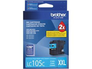 brother Innobella LC105C Super High Yield (XXL Series) Ink Cartridge Cyan