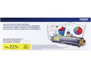 Brother TN225Y High Yield Toner Cartridge&#59; Yellow