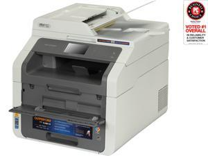 "Brother MFC-9130CW LED Multifunction Printer - Color - Duplex - Copier/Fax/Printer/Scanner - 19 ppm Mono/19 ppm Color Print - 600 x 2400 dpi Print - 3.7"" LCD Touchscreen - Wireless LAN - USB 2.0"